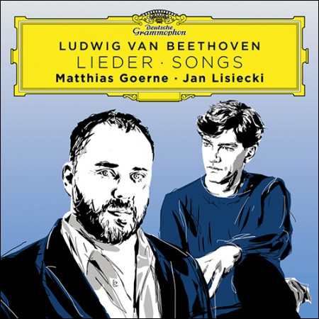 MATTHIAS GOERNE, JAN LISIECKI (Goerne, Rishitsuki)-[Book of Beethoven Songs]