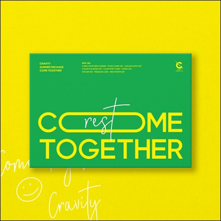 CRAVITY-Cravity Summer Package [COME TOGETHER] (REST VER.)