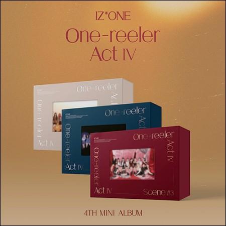 [Set] IZ*ONE (아이즈원)-Mini 4th Album [One-reeler / Act Ⅳ] (Scene #1 + #2 + #3 ver.)
