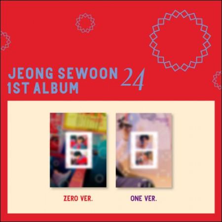 정세운 (Jung Sae Woon) - 1st Album [24] Part.2 (Zero Ver./ One Ver.) Random