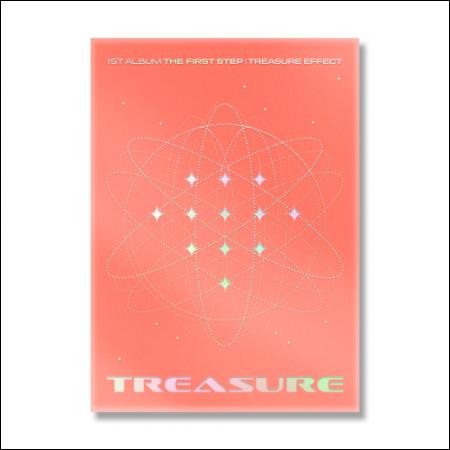 TREASURE - 1st ALBUM [THE FIRST STEP : TREASURE EFFECT] ORANGE ver.