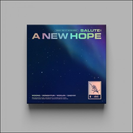 AB6IX - 3RD EP REPACKAGE [SALUTE : A NEW HOPE] NEW Ver.