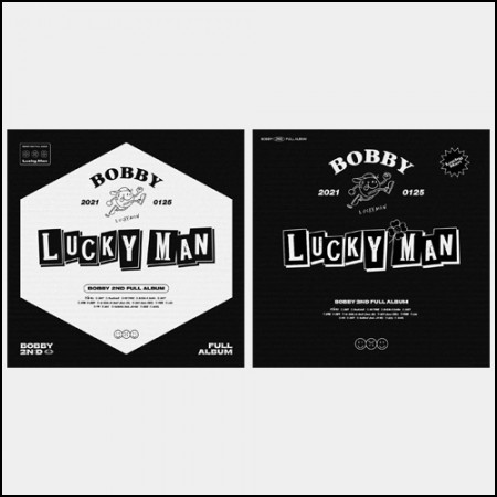 [SET] BOBBY-2nd FULL ALBUM [LUCKY MAN] _ A+B ver.