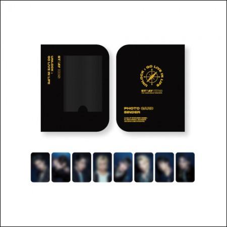 STRAY KIDS(스트레이 키즈) - [Unlock : GO LIVE IN LIFE] 포토카드 바인더 PHOTOCARD BINDER