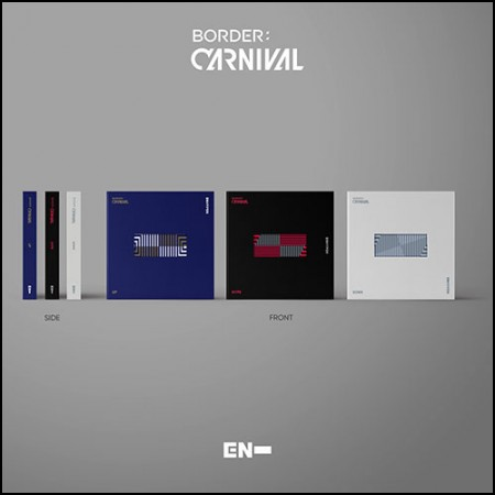 [세트] 엔하이픈 (ENHYPEN) -  [BORDER : CARNIVAL] (UP / HYPE / DOWN Ver.)