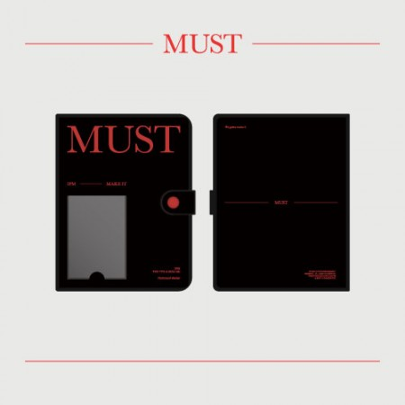 2PM [MUST] OFFICIAL MD 포토카드 바인더 Photocard Binder