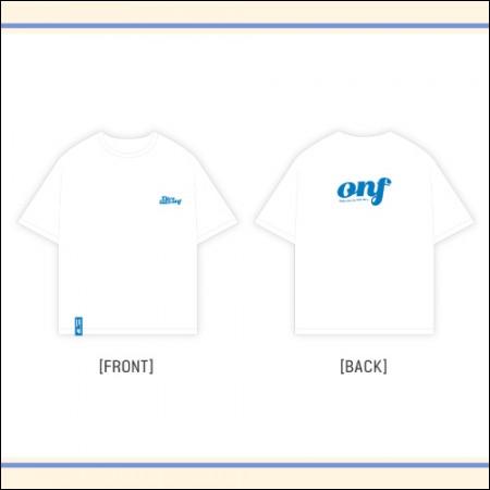 온앤오프 [Dive into ONF] Official MD - 반팔 티셔츠 T-SHIRTS