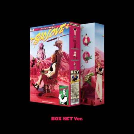 키(KEY) - 미니앨범1집_BAD LOVE(BOX SET Ver.)