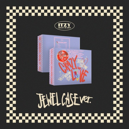 있지 (ITZY) - ITZY The 1st Album [CRAZY IN LOVE] Special Edition (JEWELCASE ver.)