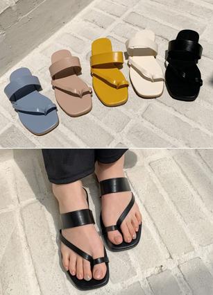 """Forest Sandals <font color=""""#ed1558""""><b>[Heel:1cm]</b> <br></font>"""