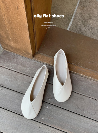 Olly Flat shoes (*5color)