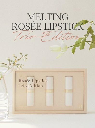 Leeds Melting Rose Lipstick Trio Edition
