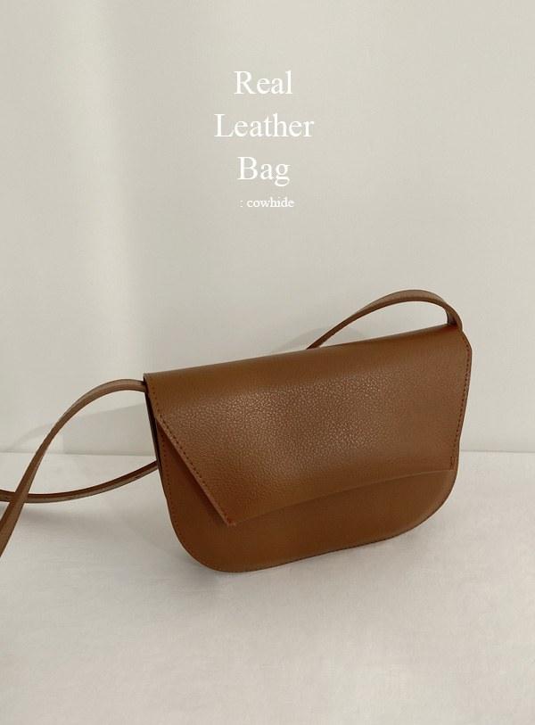 [Cowhide] Aeld bag (*2color)
