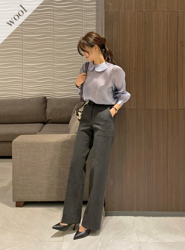 [Wool wool 20] Celeb pants (*2color)