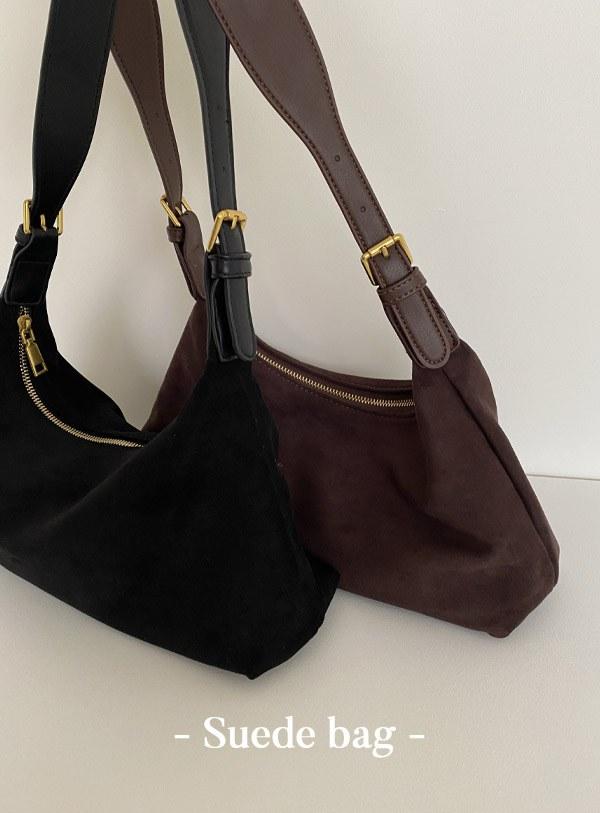 Brib Suede bag (*2color)