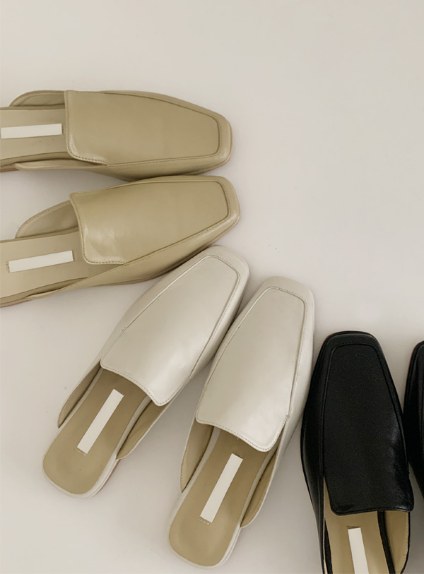 Manon Mule shoes (*3color)
