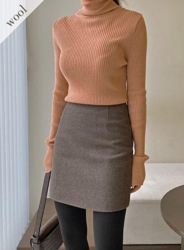 [Wool wool 70] DL's Mini sk (*3color)