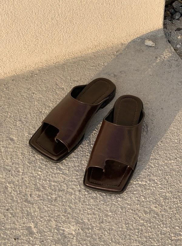 Square shoes (*3color)