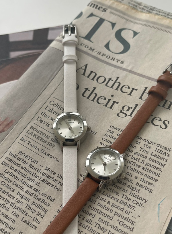 [Cowhide] Andy watch (*3color)