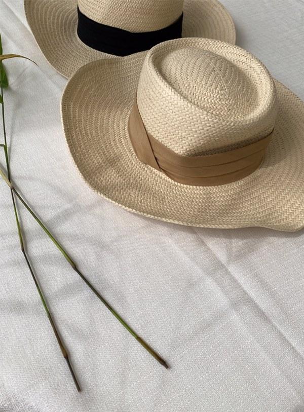 Dough straw hat (*2color)