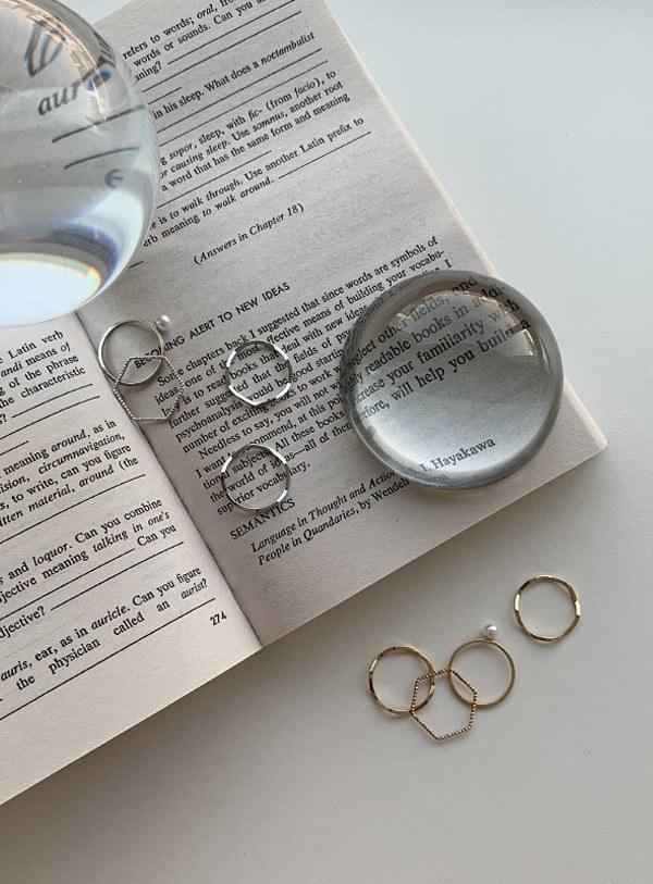 Friends Ring Set (*2color)