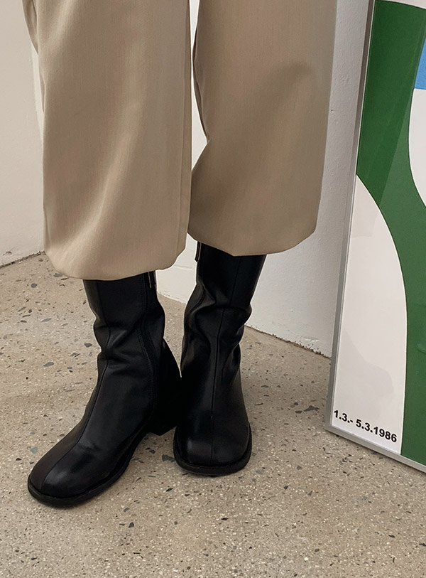 Incision Middle Boots (*2color)
