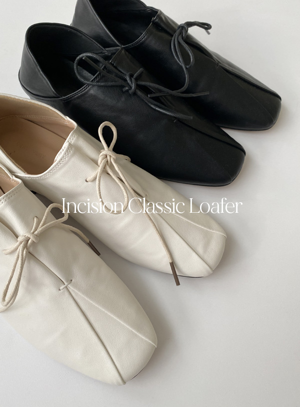 Incision Classic Loafers (*2color)
