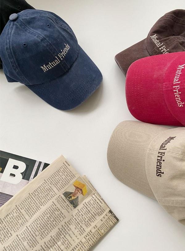 Friend Cap Hat (*5color)