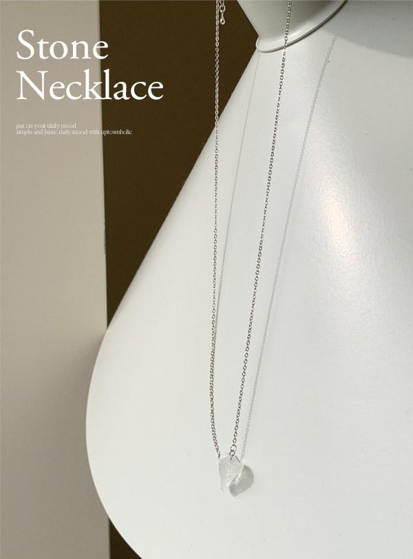 stone Necklace (*2color)