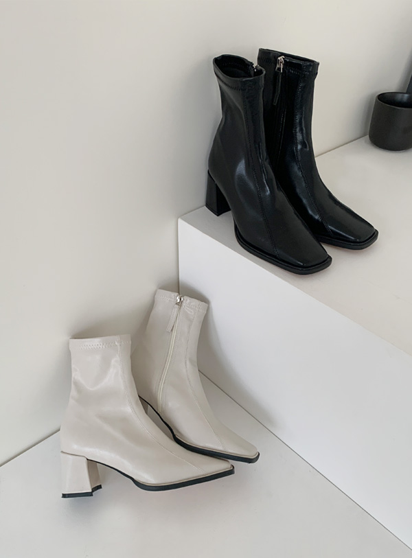 [napping lining] Momo ankle boots (*2color)