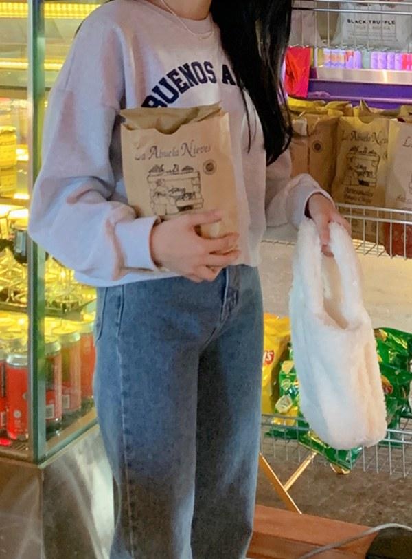 Lamy Fur Tote Bag (*2color)