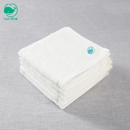 """<span style=""""color:#1da4d9"""">Im true intangible<br></span> 5 <span style=""""color:#1da4d9"""">bamboo 100%</span> handkerchief towels"""