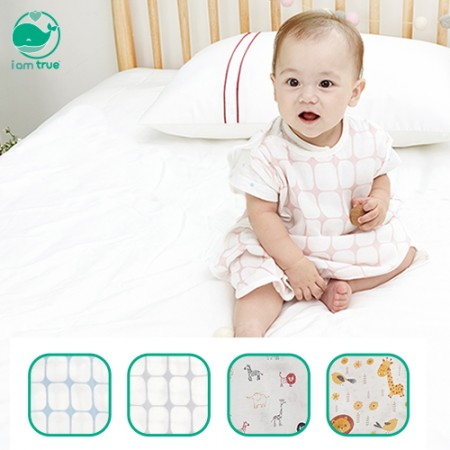"<span style=""color:#1da4d9"">I M True</span><br> Beware of Cold Bamboo + Organic<br> Gauze sleeping vest<br> 2 pieces"