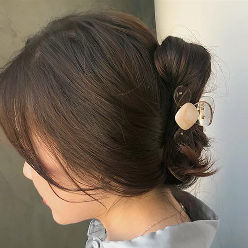 大理石贝壳发夹