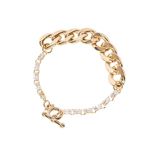 Half Crystal Bracelet