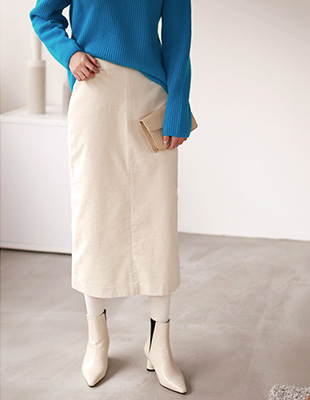 Minster corduroy skirt - 3c