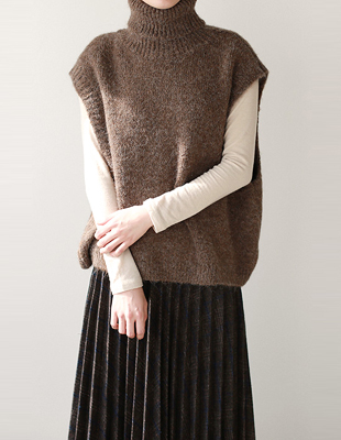 From Turtle Knit Vest