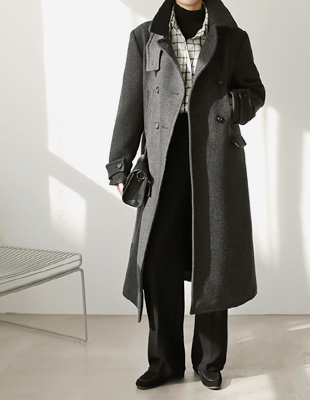 Port double Long coat