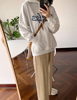 Monarch pleats pants