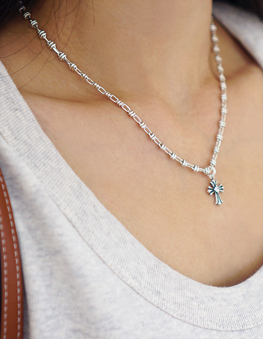 Chaining All Silver Necklace