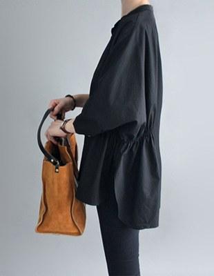Rouen shirring blouse - 2c