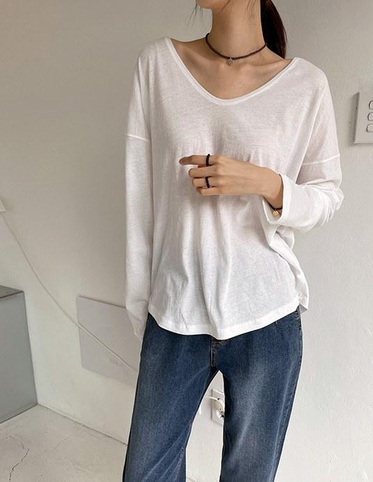 Thin Layered Long sleeves Tee