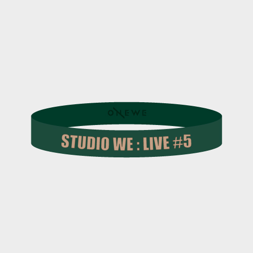 [STUDIO WE #5] SILICON BAND