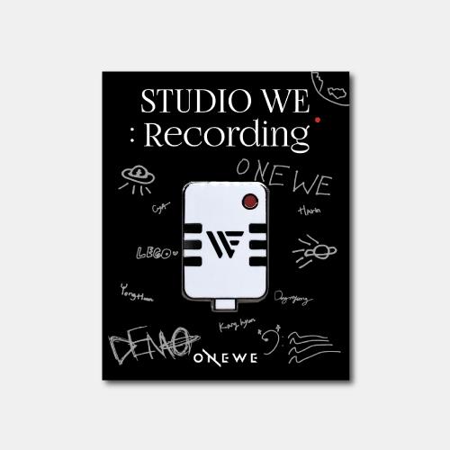 [ONEWE] STUDIO WE : Recording BADGE