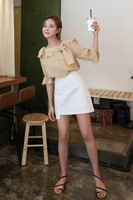 cow, skirt