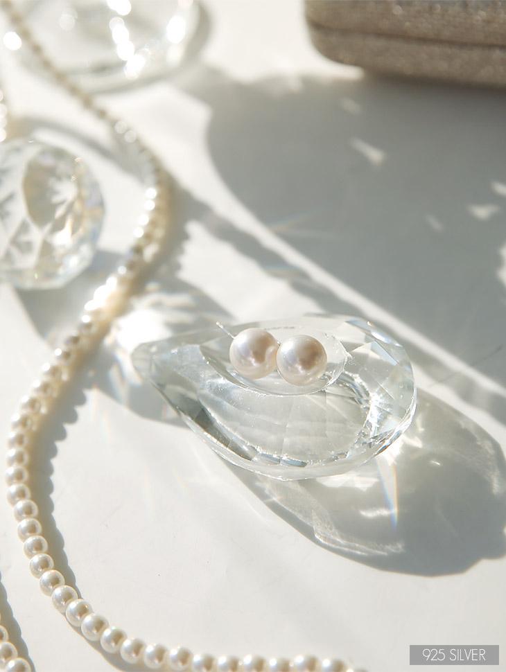 AJ-4297イヤリング(Silver)韓国
