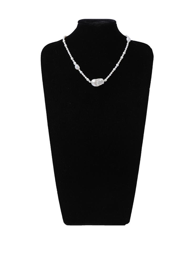 AJ-5161 ネックレス*天然淡水真珠*韓国
