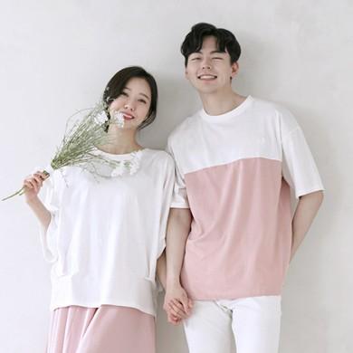 アリシアショートTシャツ男女共用21B11A /ファミリールック、家族の写真の衣装