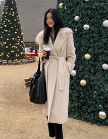 Tess alpaca coat