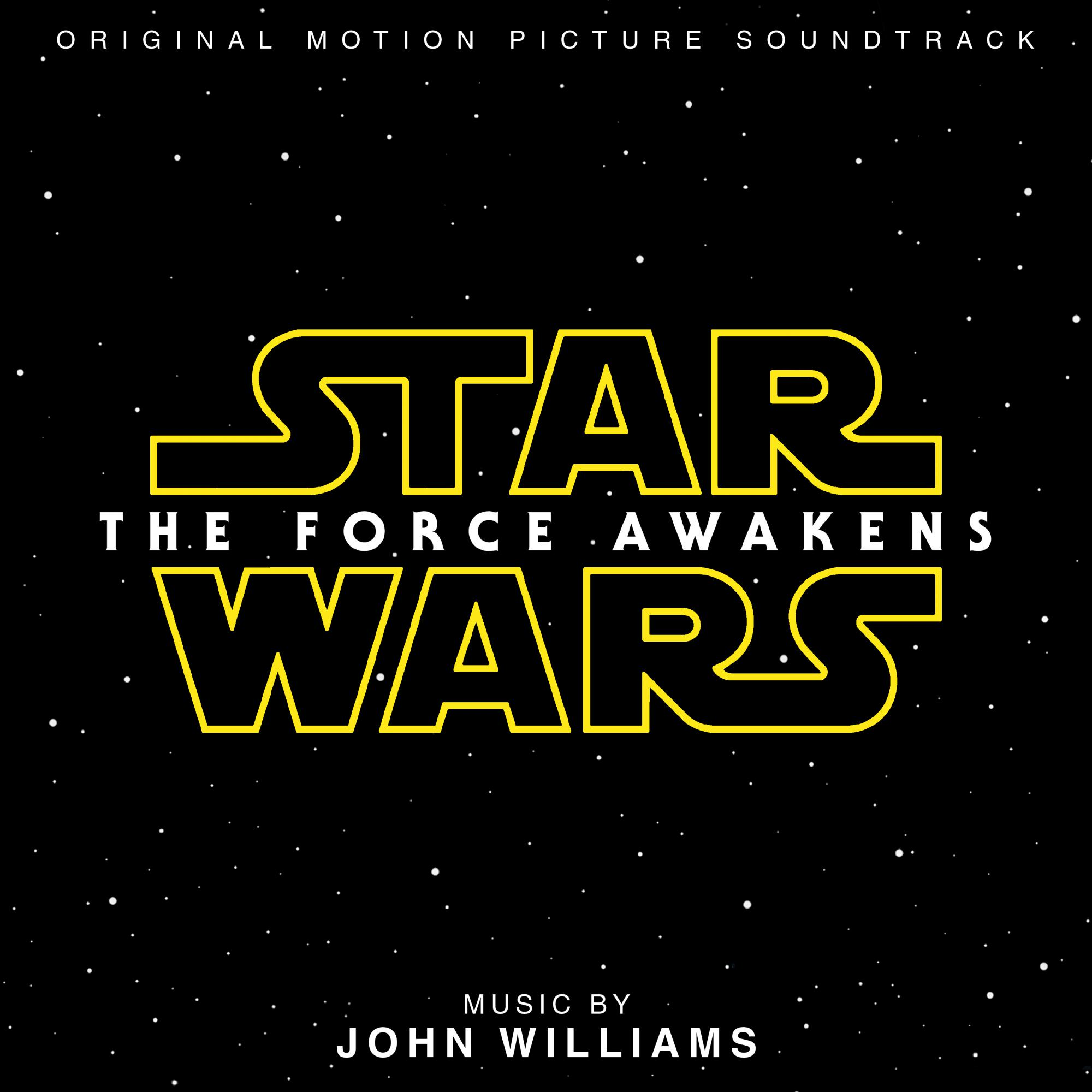 John Williams  -  STAR WARS:The Force Awakens OST [2LP Hologram]